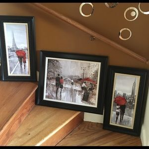 Ruane Manning Framed canvas set
